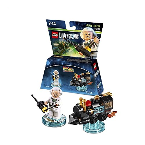Lego Dimensions - Pack de juguetes de construcción (Back to the Future Doc Brown 71230)