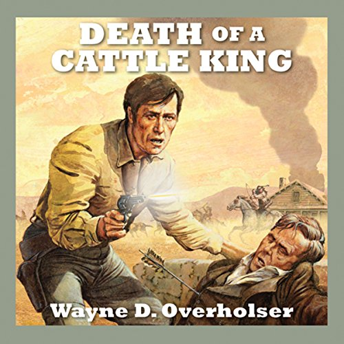 Death of a Cattle King audiobook cover art