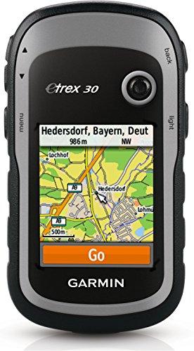 Garmin eTrex 30 Outdoor-Navi mit 2,2 Zoll Display, großem Speicher und bis zu 25 Stunden...