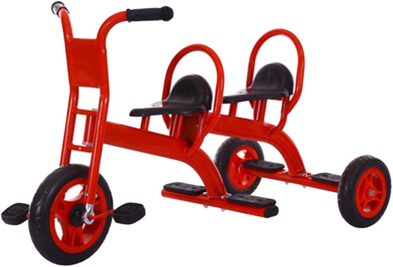 ahorra 50% -75% de descuento YUMEIGE triciclos Triciclo de Niños Rueda de de de PVC Cochecito de Cuna Doble 2-8 años Regalo de cumpleaños Trike Peso de Cochega 150 kg Disponible (Color   Rojo)  tomamos a los clientes como nuestro dios