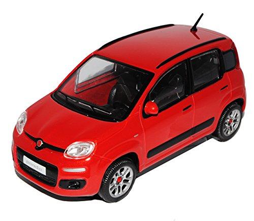 mächtig Bburago Fiat Panda Nuover Rot 5 Türer Typ 319 2012 Modell 1/24 Individuell…
