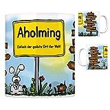 trendaffe - Aholming - Einfach die geilste Stadt der Welt Kaffeebecher