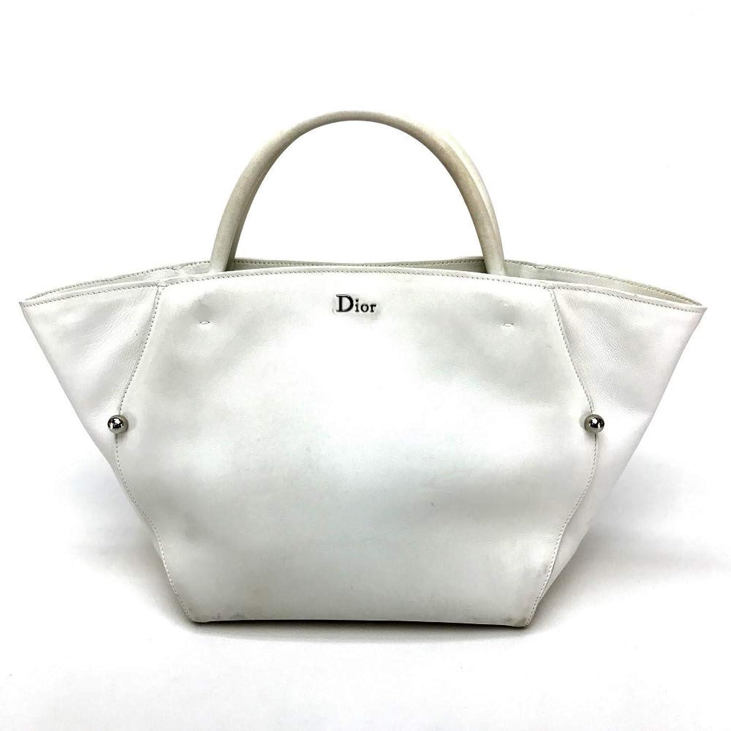 共和党バケット追記(クリスチャンディオール)Christian Dior トートバッグ ハンドバッグ レザー/レディース 中古