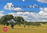 Extremadura - Unbekanntes Spanien (Wandkalender 2022 DIN A3 quer): Die Extremadura, das Herkunftsland der spanischen Konquistadoren, verzaubert Sie mit einer unberuehrten, einzigartigen Natur und bedeutenden Bauwerken aus der Roemerzeit bis in das Mittelalter. (Geburtstagskalender, 14 Seiten )