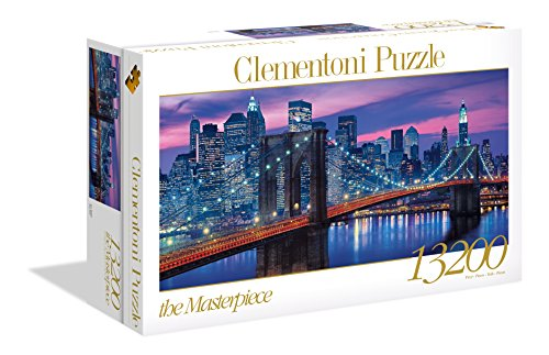 Clementoni 38009 New York – Puzzle 13200 Teile, High Quality Collection, Geschicklichkeitsspiel für die ganze Familie, farbenfrohes Legespiel, Erwachsenenpuzzle ab 9 Jahren