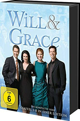 Will & Grace - Staffel 1-8 - Die komplette TV-Serie 33 DVD Box Edition