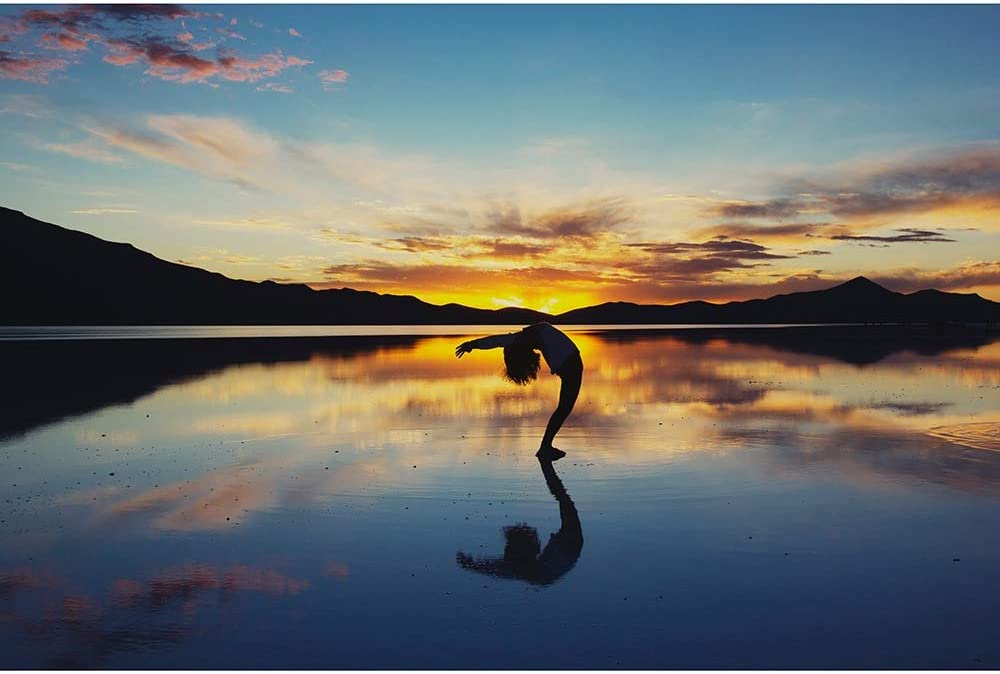 Jigsaw Max 87% OFF Puzzles Max 49% OFF Practicing Yoga in Sunset Adult - The Children's