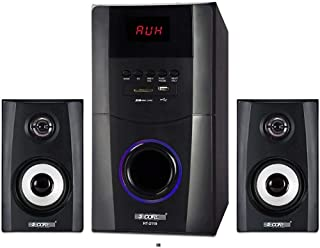 5 Core HT-2119-BT Bluetooth Hi-Fi Multimedia Home Theater Speaker System with Remote Control (Black)