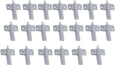 20pcs/ Set Plastic Damper Buffer Cabinet Door Soft Close Draw Stop for Kitchen Cabinet Door Drawer