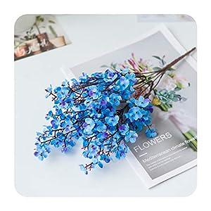 Artificial Flowers Silk Gypsophila Babies Breath Fake Flants Bride Bouquet Christmas Home Wedding Decoration Autumn