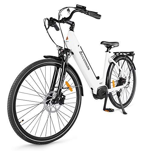 """Accolmile Bicicleta Eléctrica 28"""" 700C, Ebike de Ciudad con 36V 250W Motor..."""