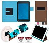 Hülle für Dell Venue 7 Tasche Cover Hülle Bumper   in Braun   Testsieger