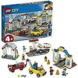 LEGO City Town - Centro Automovilístico Set de construcción con Coches de Juguete para Recrear Aventuras en la Ciudad, Novedad 2019 (60232)