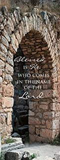 Lenten Series X-Stand Church Banner - Blessed is He