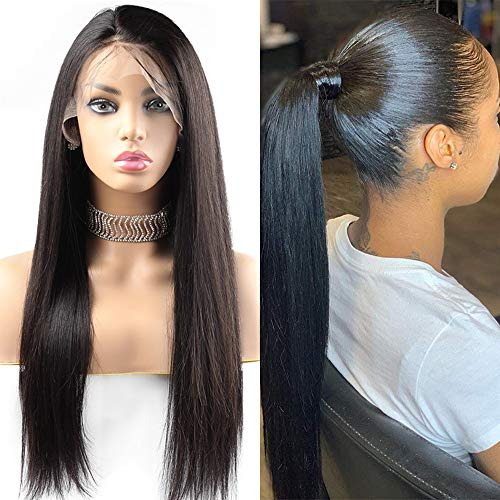 Giannay Straight Lace Front Wigs Glueless Wig for