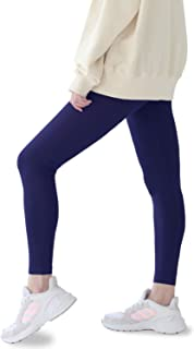 8 Sizes Women Leggings Solid Colors Soft Comfy Stretch Fit