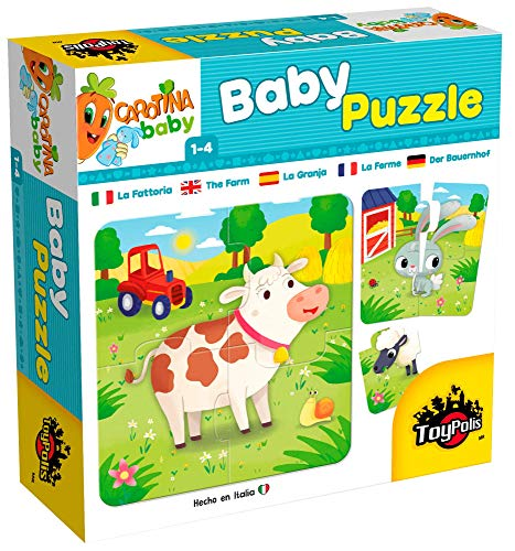 Toypolis Baby Puzzle La Granja/ Juguete didáctico y Educativo