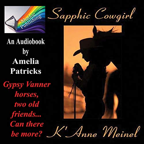 Sapphic Cowgirl audiobook cover art