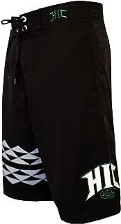 HIC Koa Peached Microsuede Boardshorts in Black - 28