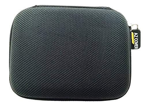 """AZ-Cover EVA Molded Semi-rigid Shell Compact Carrying Case (Black) for Samsung WB250F 14.2MP CMOS Smart WiFi Optical Zoom 3.0"""" Touch Screen Compact Digital Camera + Free LCD Screen Protector"""