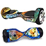 MightySkins Skin Compatible with Hover-1 H1 Hoverboard Scooter - Space Cloud   Protective, Durable, and Unique Vinyl Decal wrap Cover   Easy to Apply, Remove, and Change Styles   Made in The USA
