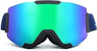 Sunglasses Fashion Accessories Ski Mountaineering Mirror Visor Removable Anti-Wind Outdoor Glasses (Color : Blue)