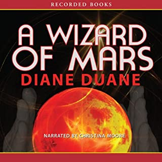 A Wizard of Mars audiobook cover art
