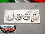 Logo Jeep Renegade Cherokee Grand Cherokee Compass avant original chromé brillant