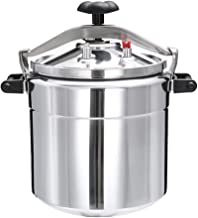 Home Kitchen Pressure Cookers Aluminum alloy explosion-proof commercial large capacity induction cooker gas pressure cooker 15L/18L/22L/33L/36L/40L Cooking & Dining Cookware Pressure Cookers