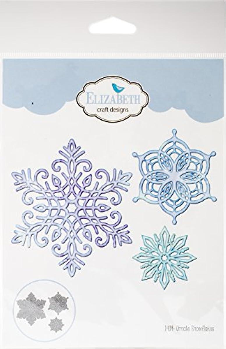 Elizabeth Craft Designs EC1409 Elizabeth Craft Metal Die, Snowflakes