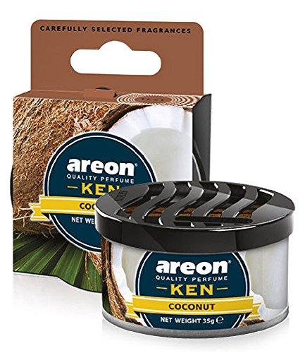 AREON Ken Ambientador Coche Coco Olor Tropical Dulce