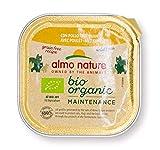 Almo Nature Gatto Vaschetta con Pollo Bio - 80 g