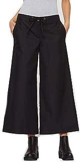 Organic Cotton Wide Leg Crop Pants M MSRP $178.00 Black