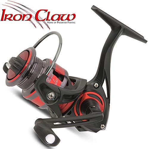 IronClaw Angular 3000 Angelrolle, Stationärrolle zum Angeln auf Hechte & Zander, Hechtrolle, Zanderrolle, Spinnrolle, Rolle