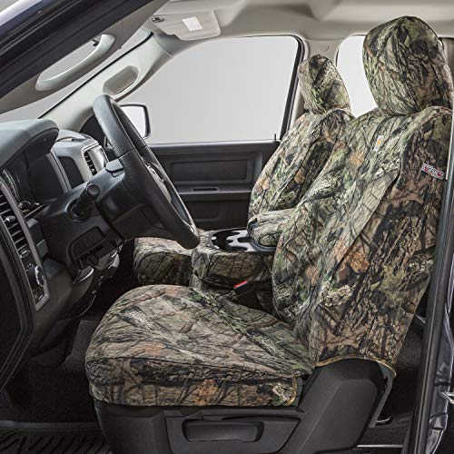 Covercraft Carhartt Mossy Oak Camo Seat Saver Vorderreihe Sitzbezug für bestimmte Cadillac/Chevrolet/GMC-Modelle – Duck Weave (Break-Up Country) – SSC2427CAMB