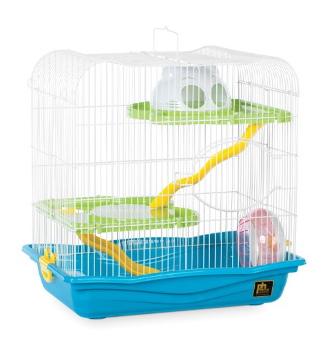 Prevue Pet Products SP2004BL Hamster Haven, Medium, Blue