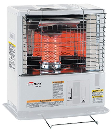 Sengoku KeroHeat 10,000-BTU Indoor/Outdoor Portable Radiant Kerosene Heater, CTN-110