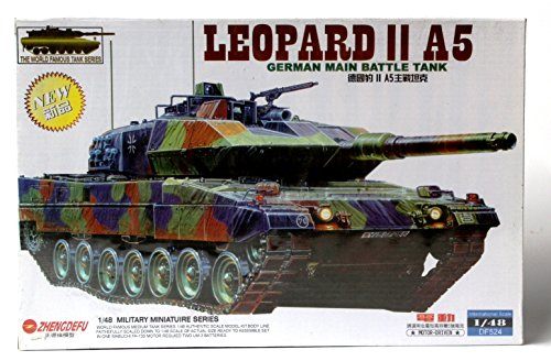 Leopard II A5 German Main Battle Tank Model