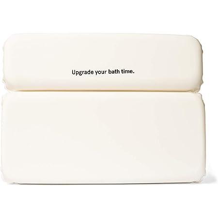 Grace & Stella Oreiller de Bain Pour Baignoire - Appui-tête de Bain Pour le Soutien de la Nuque, le Confort et la Détente - Baignoire Étanche Accessoire D'oreiller Avec 7 Ventouses (1oreiller de bain)