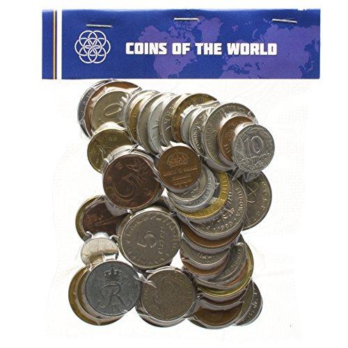 Conjunto de Dinero 50 Monedas extranjeras Diferentes colección de Toda la Europa....