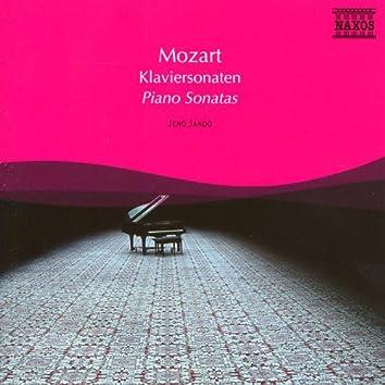 Mozart: Piano Sonatas Nos. 8, 11, 16 and 17