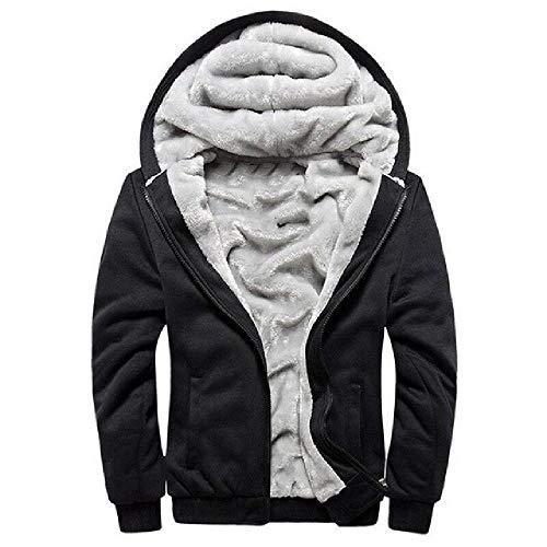 Dikker Sweatshirt Mannen Mode Fleece Jassen Mens Merk Tracksuit Hoodies Winter Warm Hooded Mannelijke Rits Jas