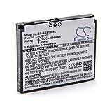 vhbw Li-Ion batería 900mAh (3.7V) para navegador GPS Becker HJS-100, HJS100, Map Pilot