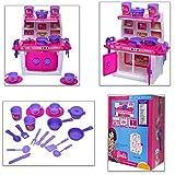 ToyDor Barbie Doll Kitchen Set for Girls Kids Toys for Kids Non Toxic