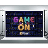 Video Game On Backdrop for Boy Gaming Themed Party 7x5ft Xbox Party Photo Background 50s Birthday Party Decorations LSVV866