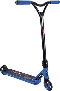 BESTIAL WOLF Booster B16, Scooter Pro, Manillar Negro y Tabla Azul