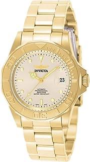 "Invicta 男式""Pro Diver""日本自动金色调不锈钢运动手表,颜色:金色(型号:INVICTA-9010)"