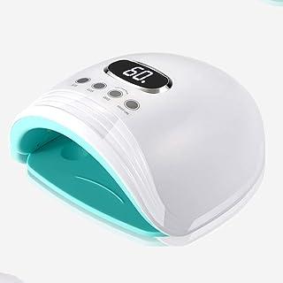 Cfbcc Nail Art fototerapia de luz roja de la máquina Sun Blanqueamiento de la lámpara LED de la lámpara for Hornear Esmalte de uñas Pegamento del Clavo Secador de inducción (Color: Negro)