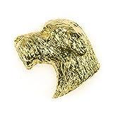 Cazador de lobos irlandés Hecho en Reino Unido Artístico Perro Pin Insignia Colección...