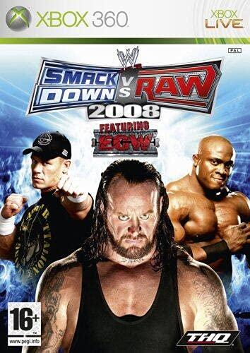 WWE Smackdown VS Raw 2008[fr Import]